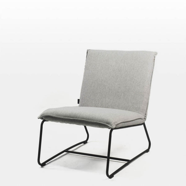 Quimby Occasional Chair in Twill Grey