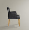Leo Dining Chair Carver - Dellis Furniture  - 1