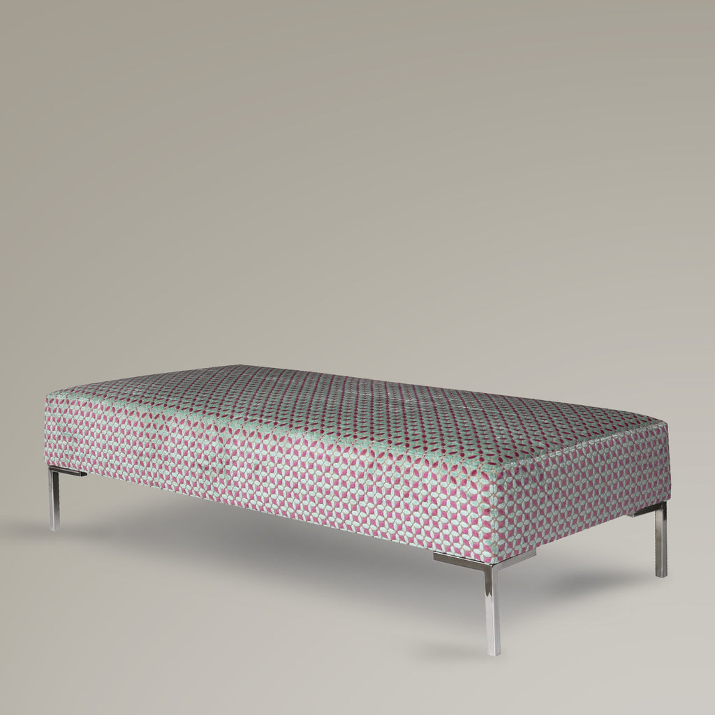 Australian Made Custom Bespoke Upholstered Ottoman by Dellis Furniture