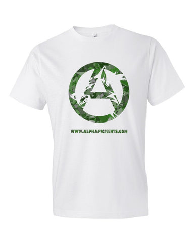 Green Camo Short sleeve t-shirt