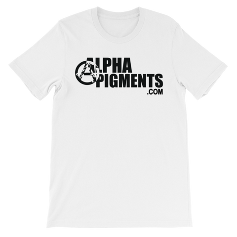 AlphaPigments.com Black Logo T-Shirt - Alpha Pigments - Tamco Paint - DIY Epoxy - Autoflex Coatings