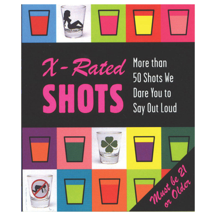 X-Rated Shots - Mini Book