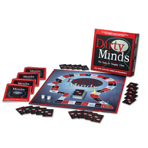 TDC Games Deluxe Dirty Minds The Game of Naughty Clues - 15th Anniversary Edition