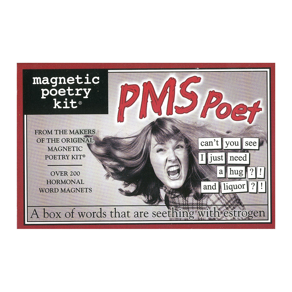 Magnetic Poetry Kit: PMS Poet