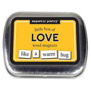 Magnetic Poetry Little Box of Love Word Magnets