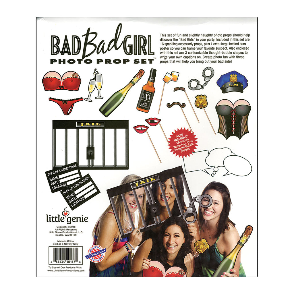 Little Genie Bad Girl Photo Prop Set