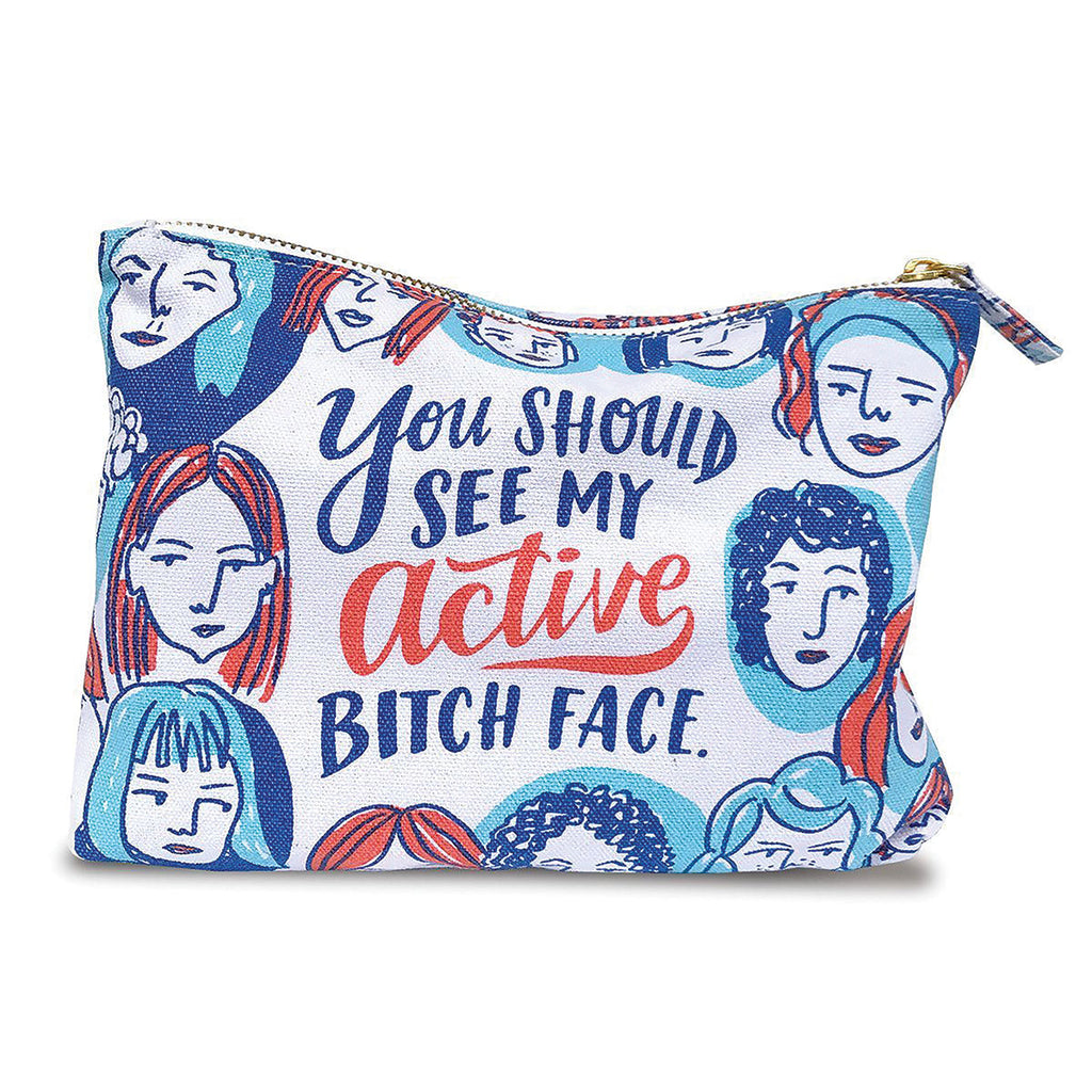 You Should See My Active Bitch Face Pouch - Emily McDowell & Friends