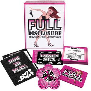 Ball & Chain Full Disclosure - Full Disclosure Strip, Truth or Dare Game