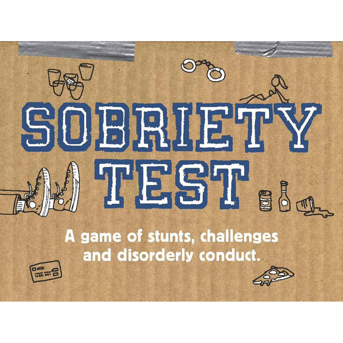Chronicle Books Sobriety Test - A Game of Stunts, Challenges, and Disorderly Conduct