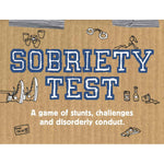 Load image into Gallery viewer, Chronicle Books Sobriety Test - A Game of Stunts, Challenges, and Disorderly Conduct