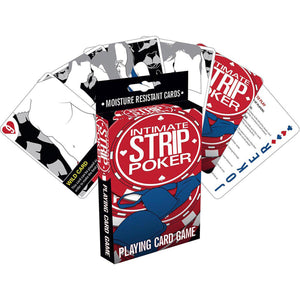 Aquarius Intimate Strip Poker Card Game