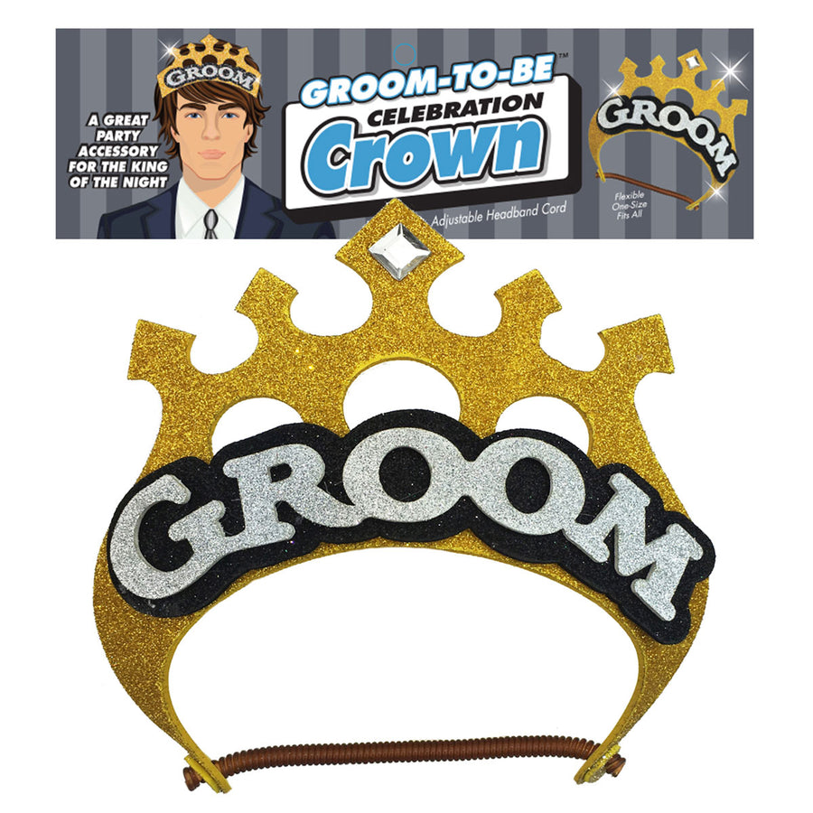 Little Genie Groom to Be Crown