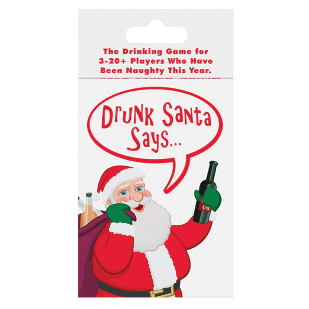 Kheper Games Drunk Santa Says Card Game