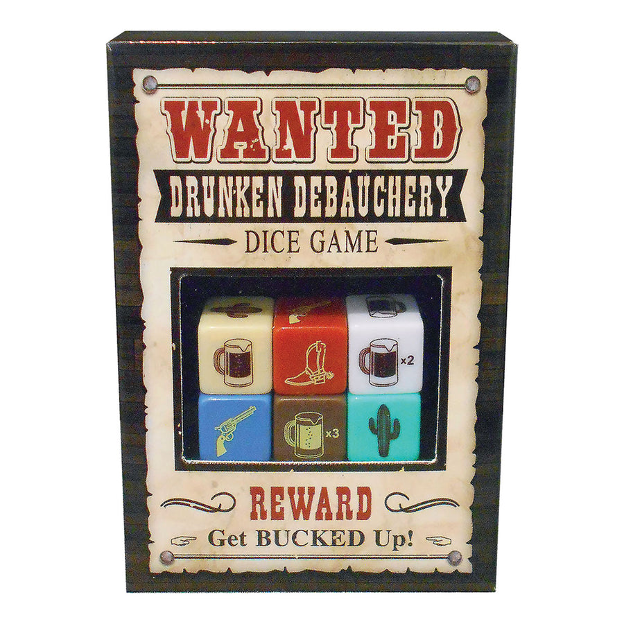 Kheper Games Drunken Debauchery Dice