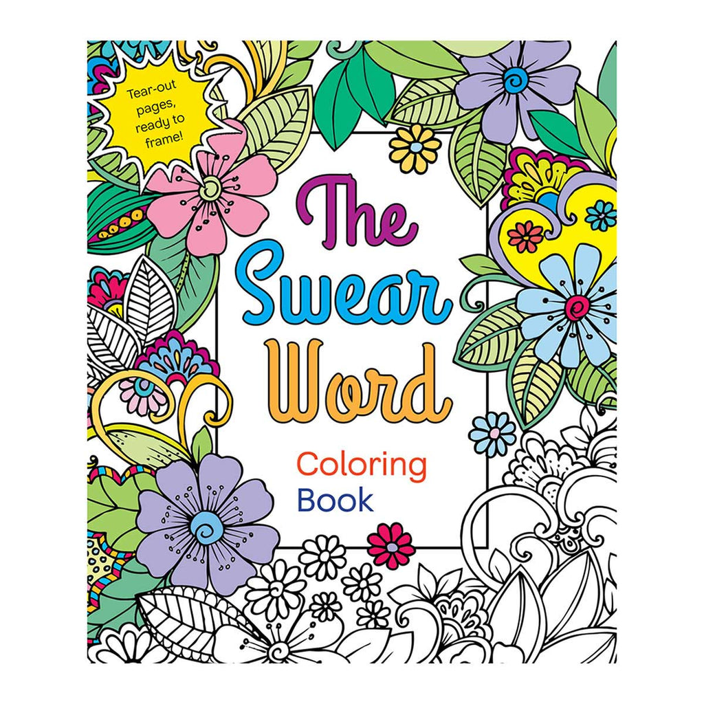 Swear Word Coloring Book - St. Martin's Griffin