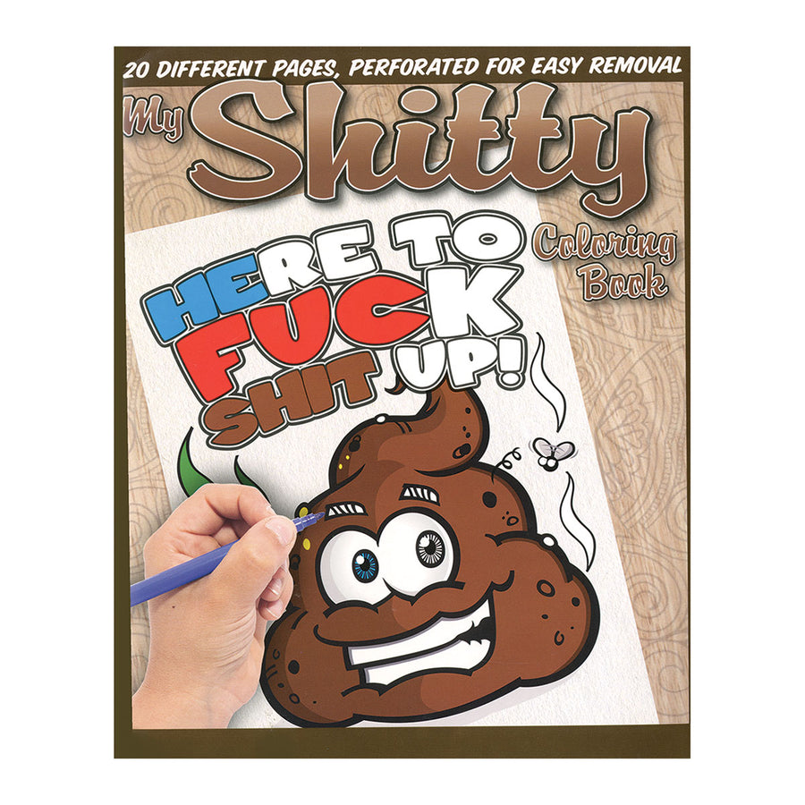 Shitty Coloring Book - Cleis Press