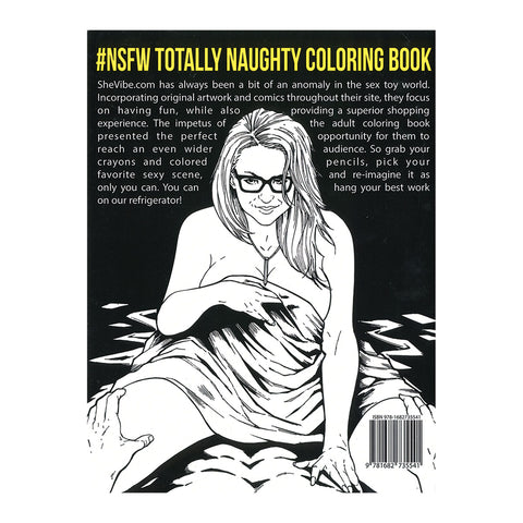 Totally Naughty Coloring Book #NSFW - SheVibe