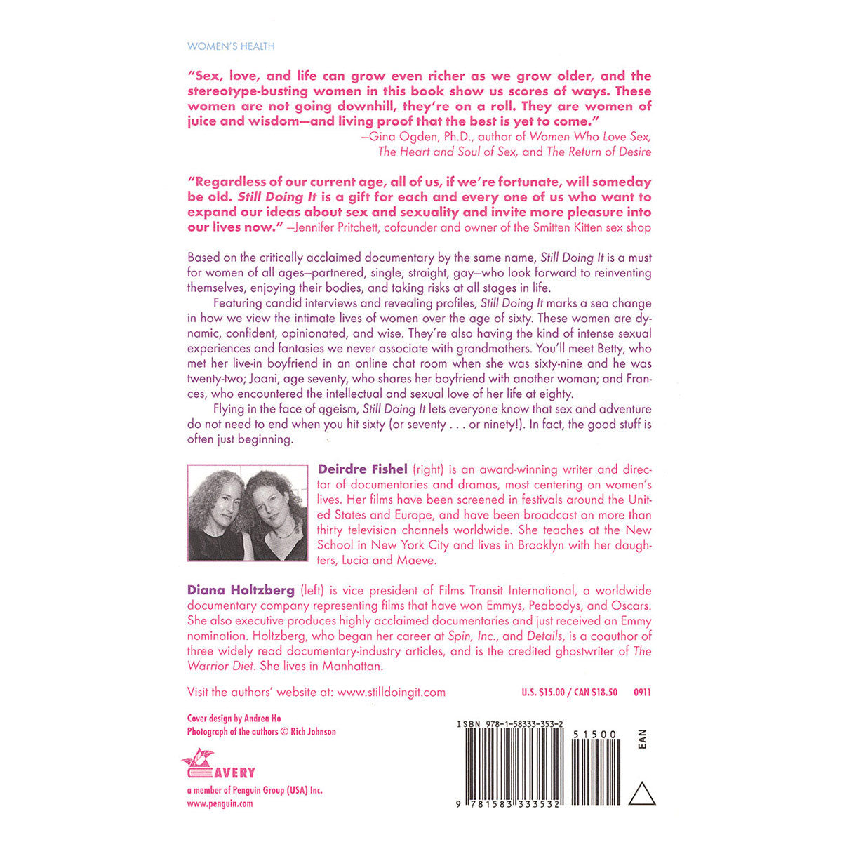 Still Doing It: The Intimate Lives of Women Over 60 - The Intimate Lifes of Women Over Sixty - Avery Books
