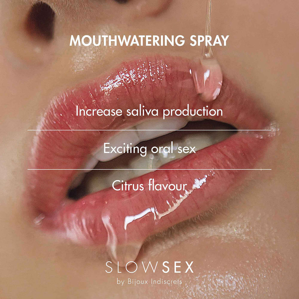 Bijoux Indiscrets Slow Sex Mouthwatering Spray .44oz