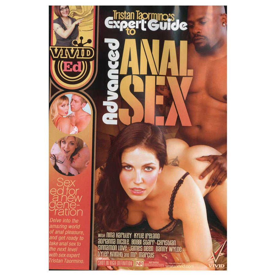 Tristan Taormino's Expert Guide to Advanced Anal Sex - Vivid Ed