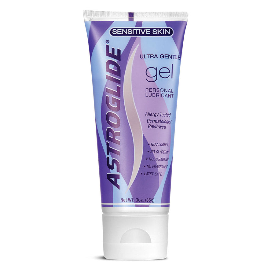 Astroglide Ultra Gentle Sensitive Skin Gel Personal Lubricant - 3 oz