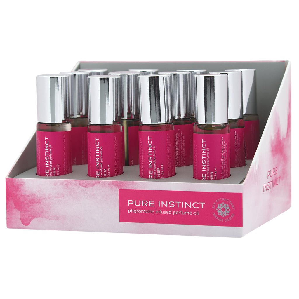 Classic Erotica Pure Instinct Roll-On For Her - .34oz
