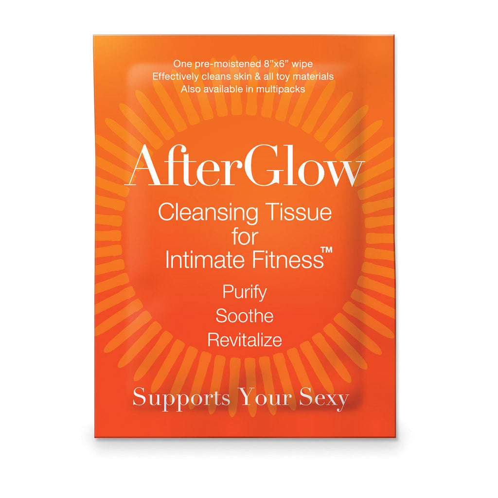 S+HE Afterglow Cleansing Tissues for Intimate Fitness - Singles 50/bag
