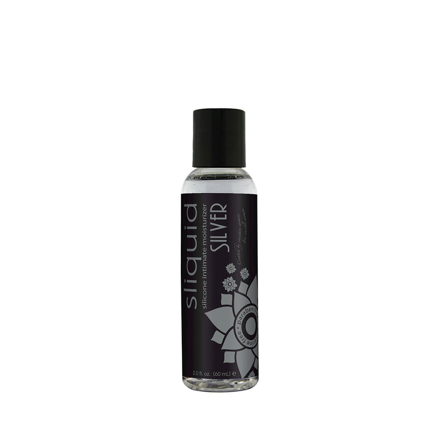 Sliquid Silver Silicone-Based Lube - 2 oz