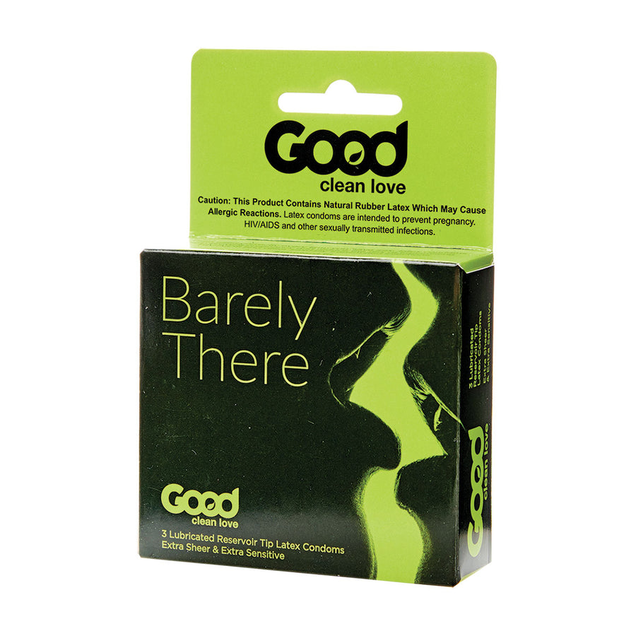 Good Clean Love Barely There Condoms 3pk