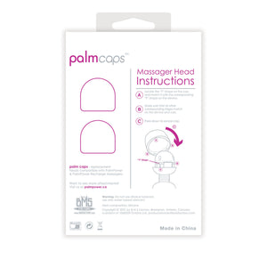 BMS PalmCaps PalmPower Wand Attachment (2 pack)
