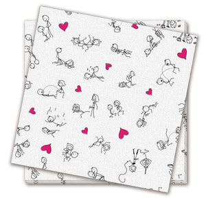 Candyprints Stick Figure Sex Na packins - 8 pack