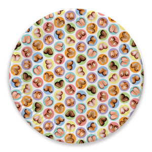 Candyprints Boobs Plates - 8 pack