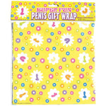 Load image into Gallery viewer, Candyprints Super Fun Penis Gift Wrap Paper (Two 20 x 30 Sheets)