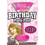 Load image into Gallery viewer, Little Genie Birthday Party VIP Pass/Dare Game