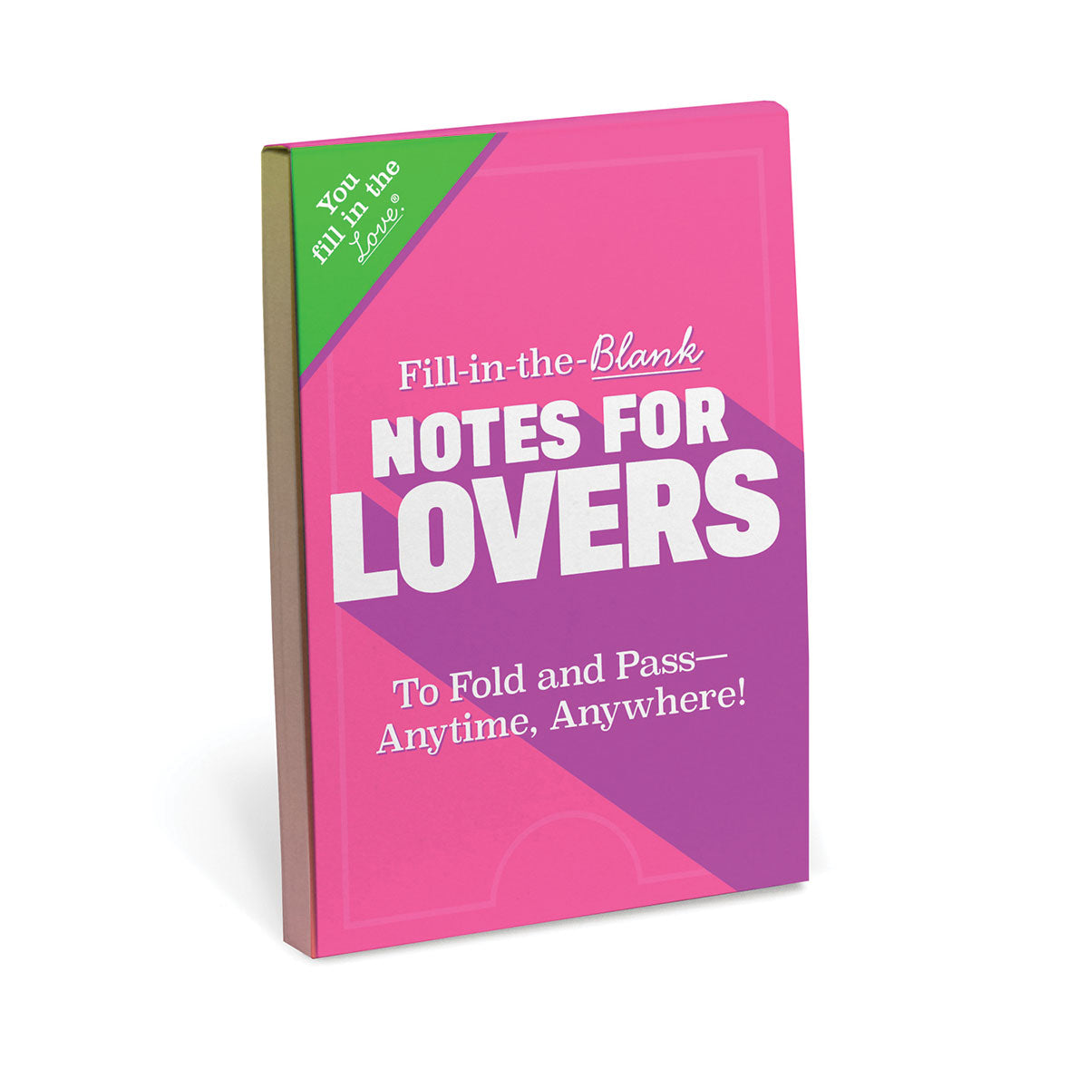 Knock Knock Notes For Lovers Fill-in-the-Blank