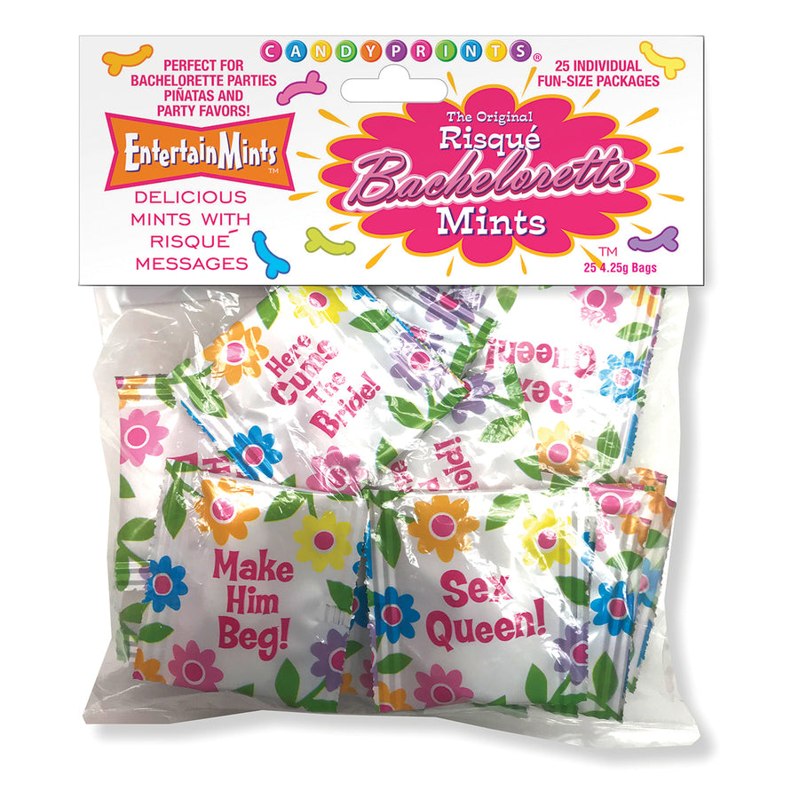 Candyprints Risque Bachelorette Mints Bag of 25