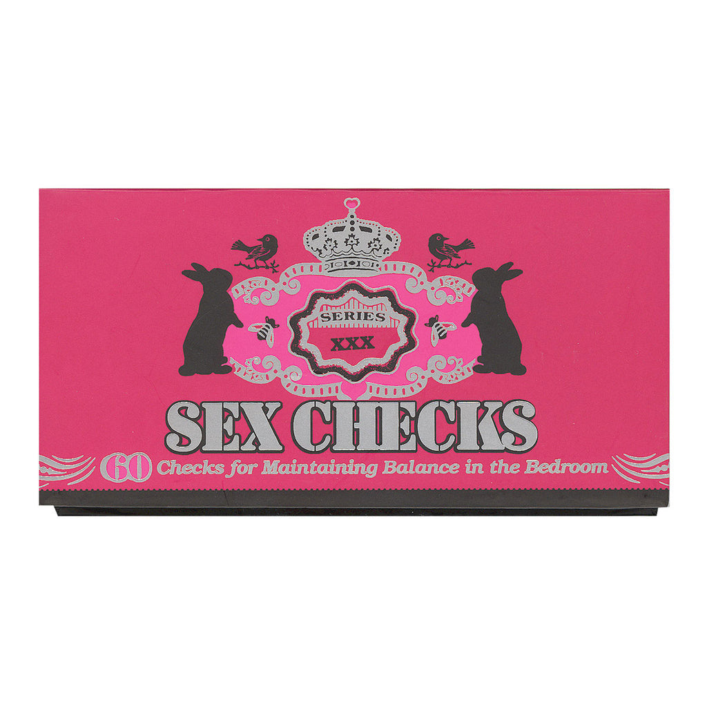 Potter Style Sex Checks: 60 Checks to Maintain Balance in the Bedroom