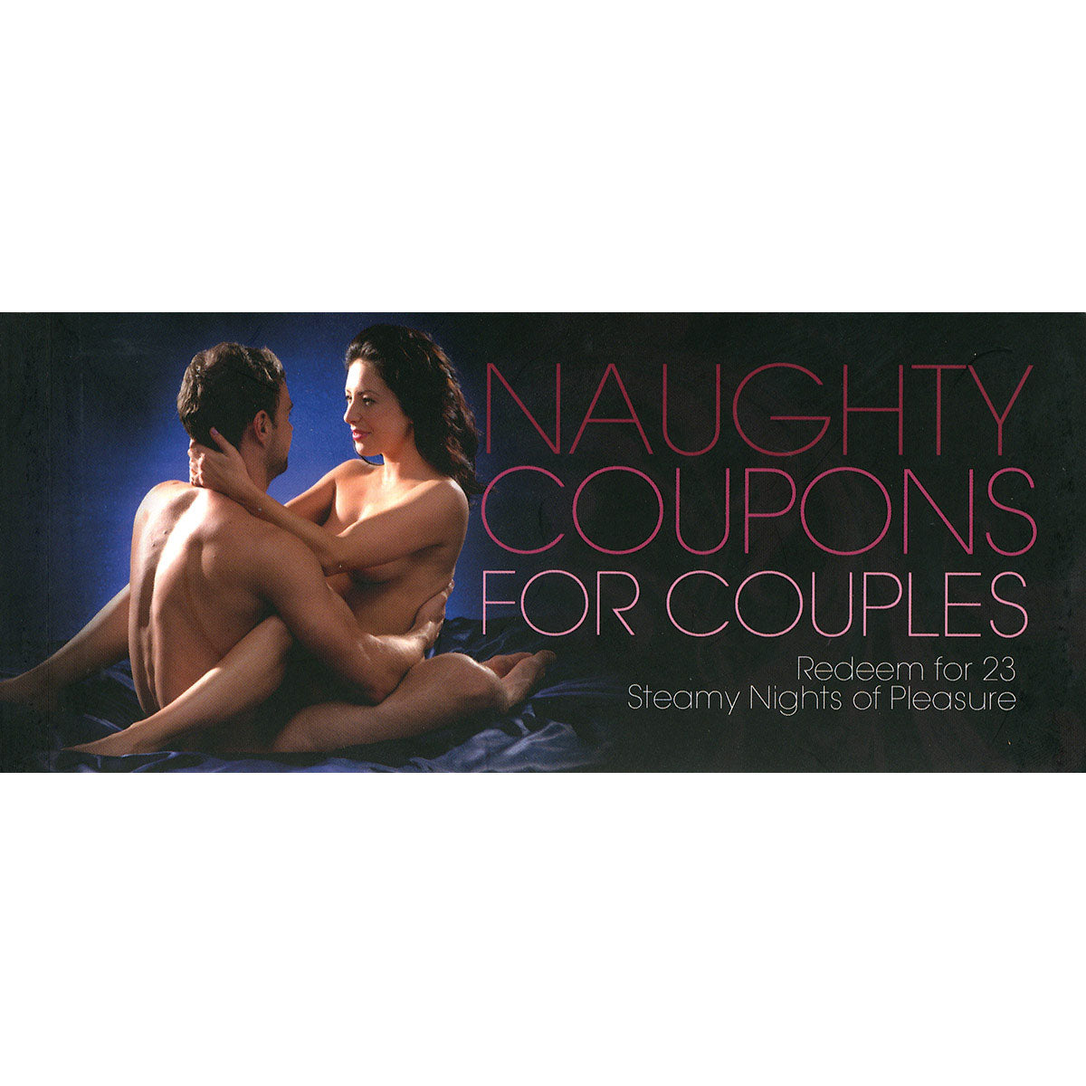 Amorata Press Naughty Coupons for Couples - Redeem for 23 Steamy Nights of Pleasure