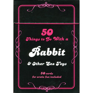 50 Things to Do With a Rabbit and Other Sex Toys Card Deck - Carlton Books