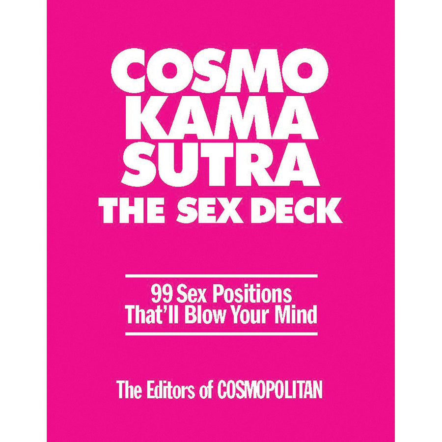 Sterling Publishing Cosmo Kama Sutra Sex Deck - 99 Sex Positions That Will Blow Your Mind