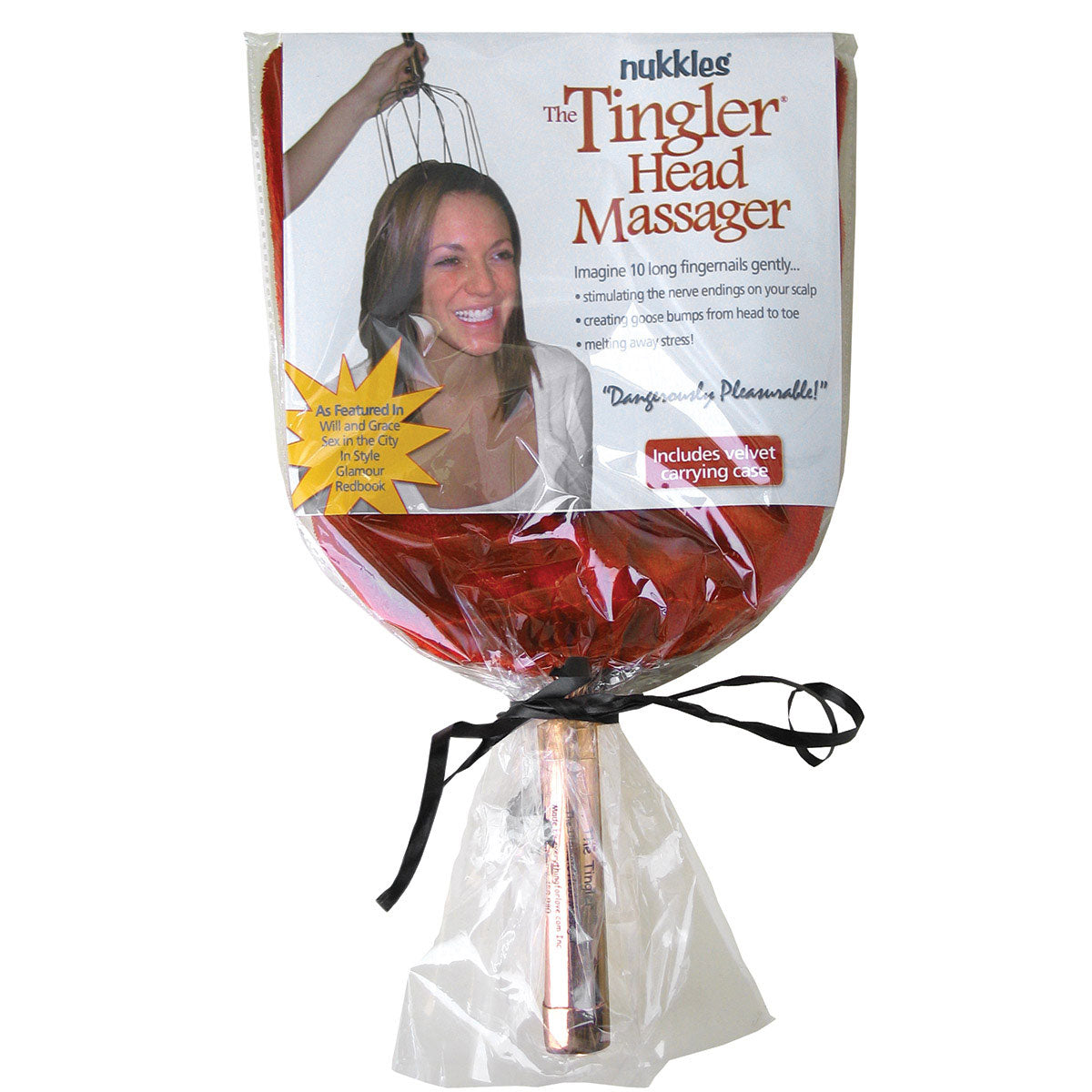 Nukkles Tingler Copper Scalp Massager