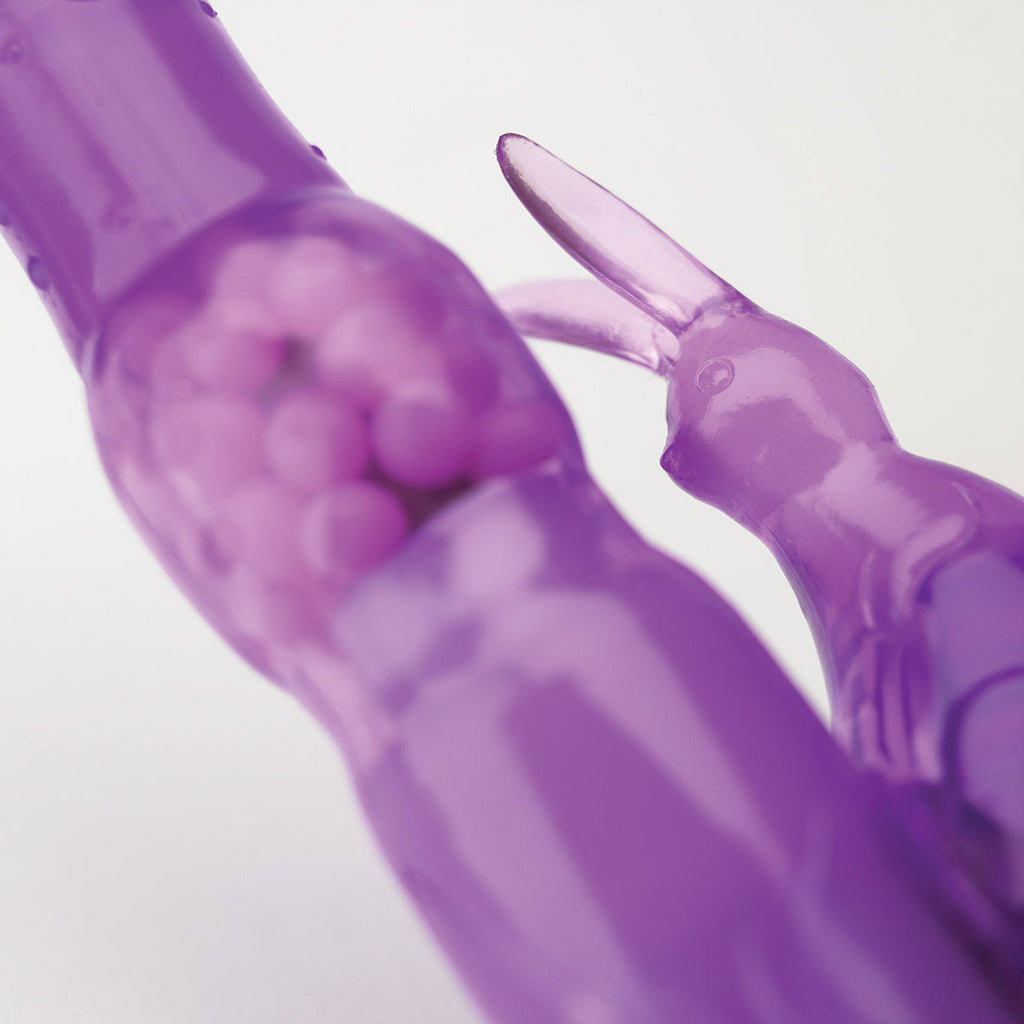Vibratex Rabbit Habit Purple Elastomer Clitoral & G-Spot Vibrator