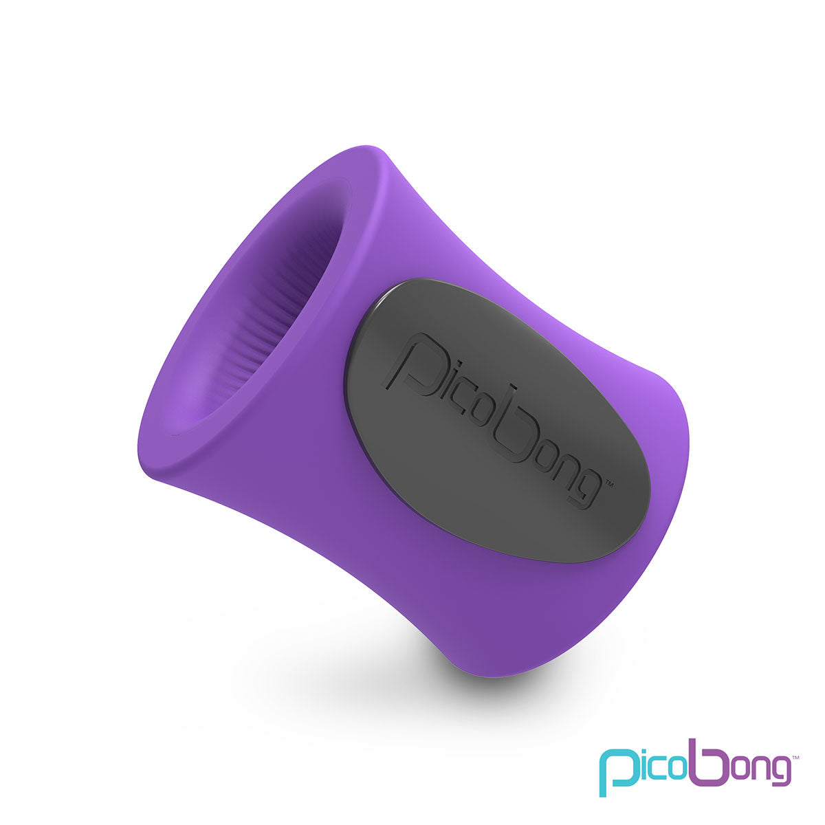 PicoBong Remoji Blowhole App-Controlled Vibrating Masturbation Cup Purple