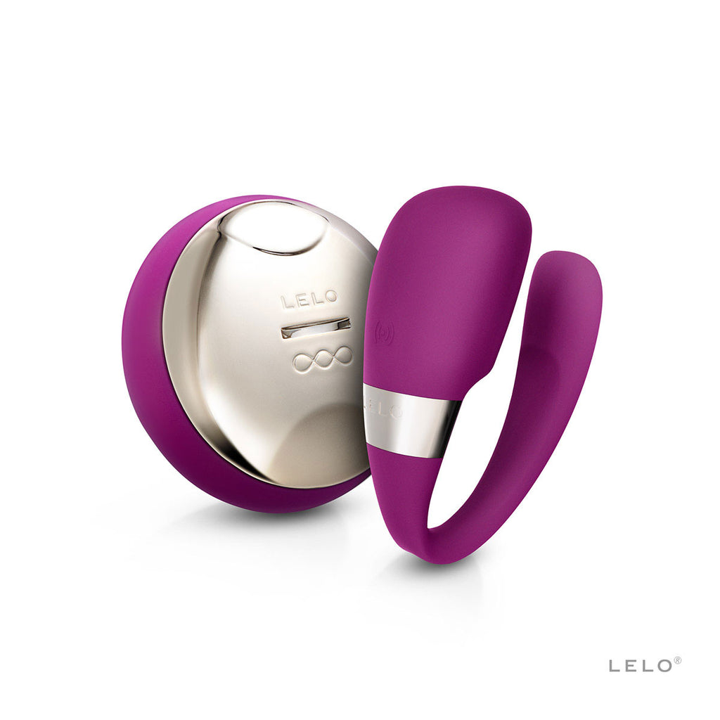 LELO Tiani 3 Remote-Controlled Couples G-Spot Vibrator Deep Rose