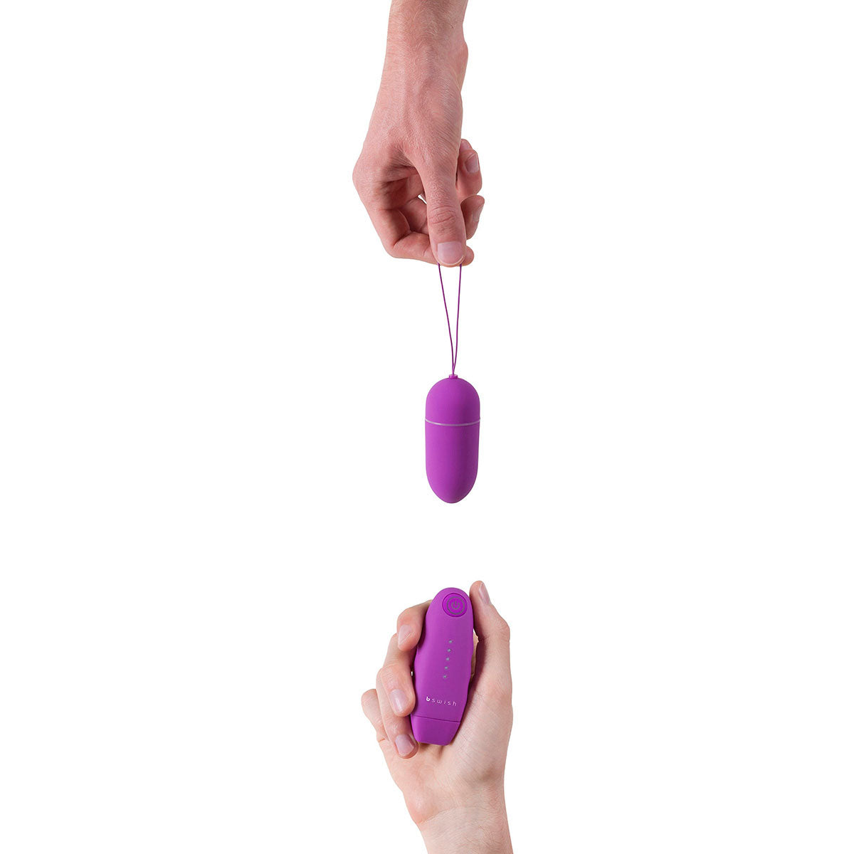 B Swish Bnaughty Classic Unleashed Remote-Controlled Bullet Vibrator Grape