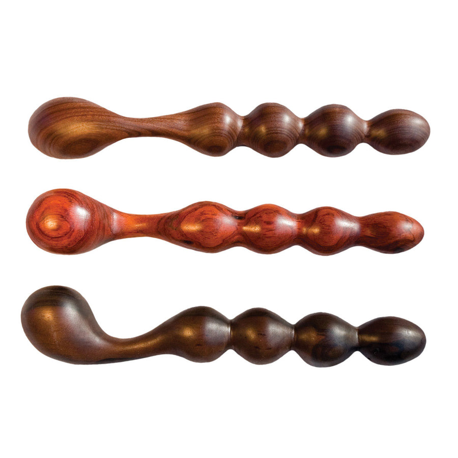 NobEssence Allure Sculpted Wood Prostate & G-Spot Dildo