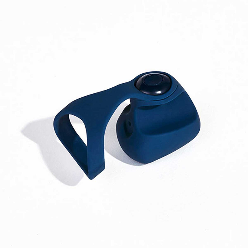 Dame Products Fin Wearable Vibrator for the Fingers Navy