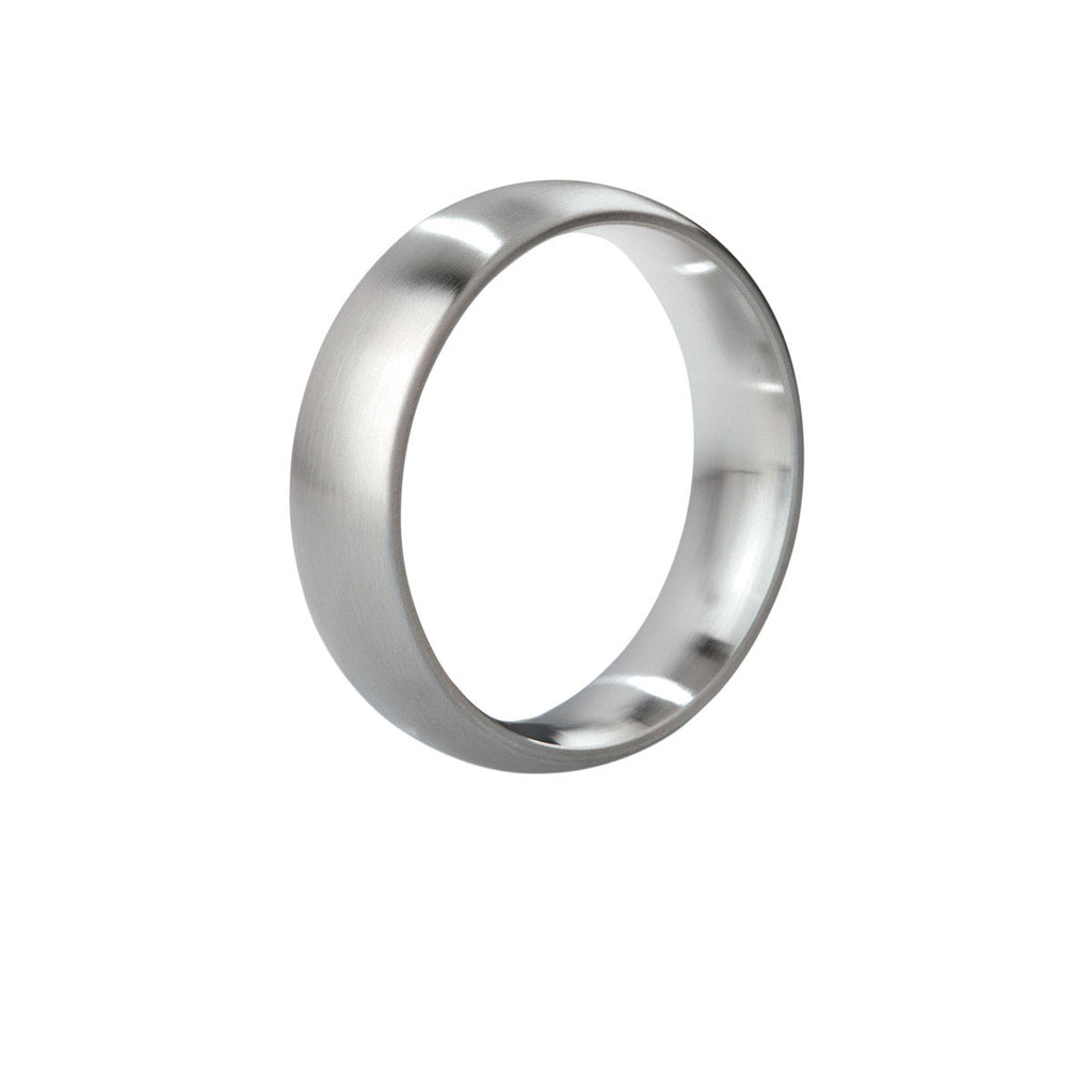 Mystim His Ringness the Earl Cock Ring (brushed) 48mm