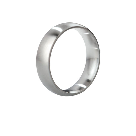 Mystim His Ringness the Earl Cock Ring (brushed)