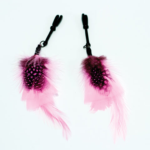 Sex Kitten Feather Clamps